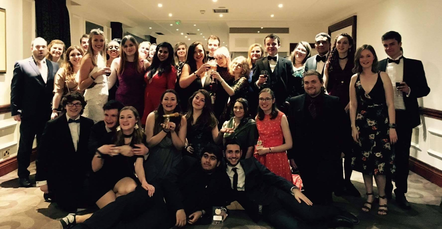 Insanity Radio at the Societies & Media Ball